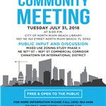 07-31-2018 Community Meeting - Flyer